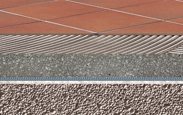 Sistema posa pavimenti e rivestimenti: fondi e massetti tradizionali