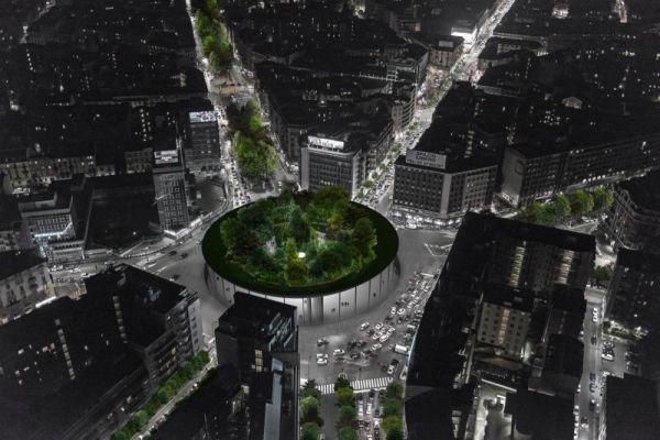 Sovraparco: una foresta urbana nel cuore trafficato di Milano