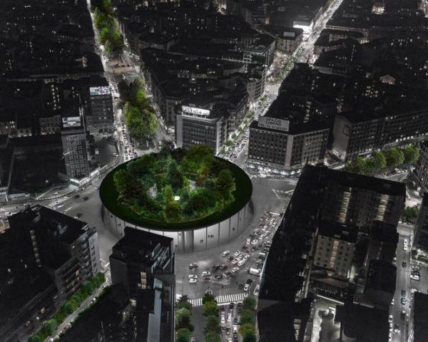 Sovraparco, una foresta urbana nel cuore trafficato di Milano