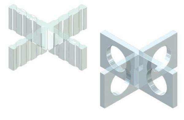 Accessori per supporti - spaziatori a croce