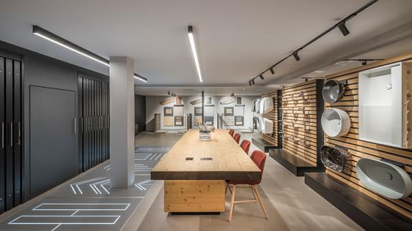 spazio espositivo dedicato ai partner