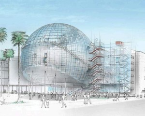 Renzo Piano firma il progetto dell'Academy Museum of Motion Pictures