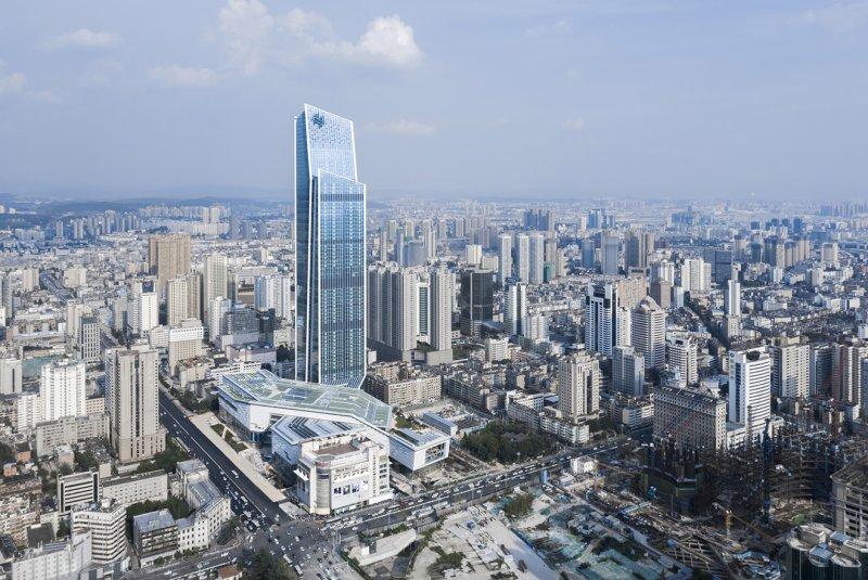 Spring City 66: il centro commerciale ispirato al paesaggio regionale