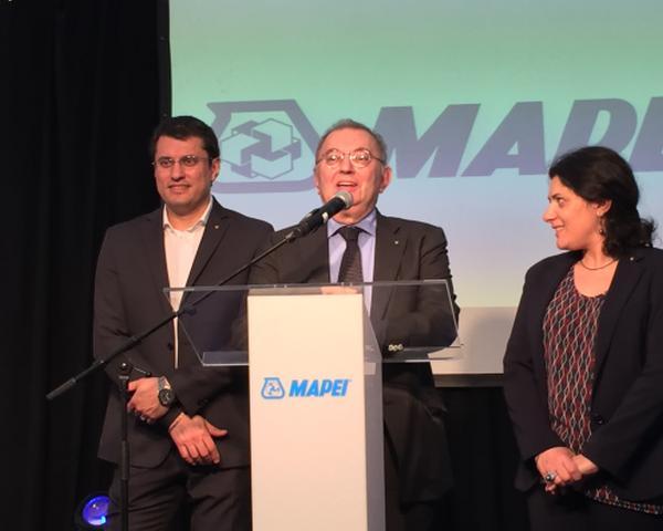 Giorgio Squinzi, presidente MAPEI