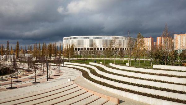 La nuova sede del FC Krasnodar, uno stadio da 33.000 spettatori
