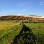 Il primo stadio in legno in UK firmato ZHA