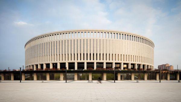 La nuova sede del FC Krasnodar ricorda un anfiteatro romano