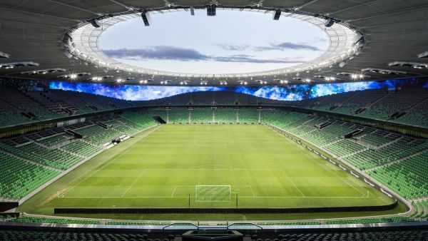 Tetto del nuovo stadio FC Krasnodar
