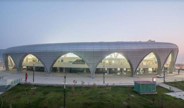 Linxia Olympic Sports Center Stadium: un progetto di DUTS Design