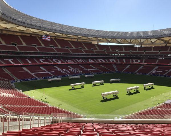 Wanda Metropolitano è il nuovo stadio dell'Atletico Madrid