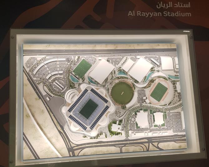 Progetto Stadio Rayyan a Doha