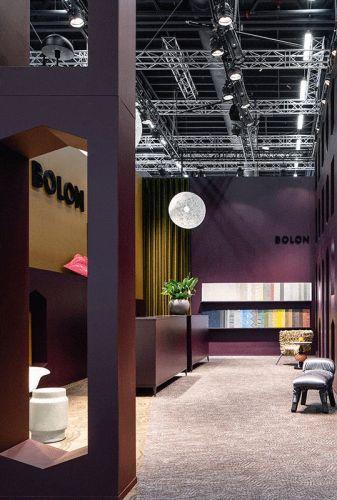 Lo stand Liuni al salone del Mobile 2019