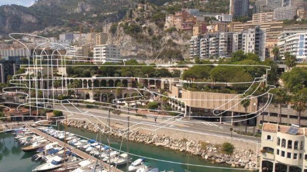 Masterplan progetto riqualificazione quartiere Fontvieille nel Principato di Monaco firmato Fuksas