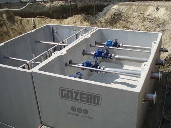 Stazione di sollevamento Gazebo