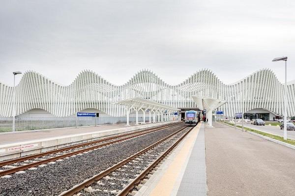 Stazione mediopadana di Calatrava