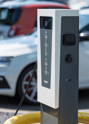 Stazioni di ricarica per auto elettriche Witty