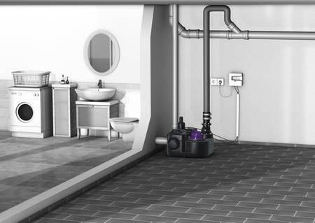 Stazione di sollevamento Aqualift F Basic