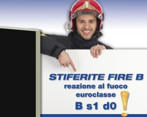 Pannello termoisolante STIFERITE FIRE B