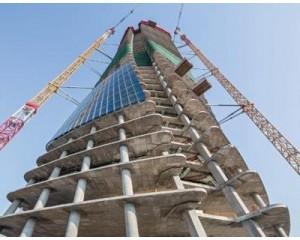 Casseforme a ripresa per il grattacielo a spirale di Hadid