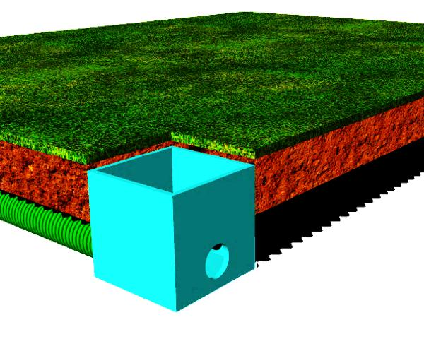 Tetti verdi: sistemi di drenaggio sostenibile