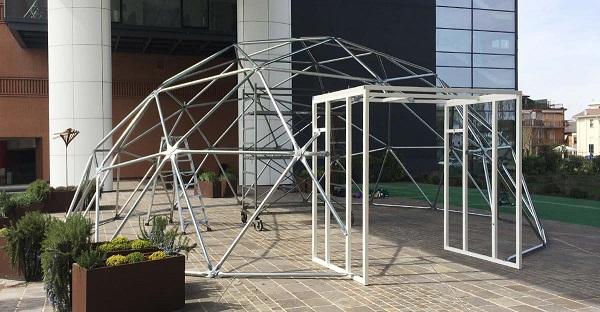Struttura in acciaio di Gabbia Luce K-Igloo Outdoor