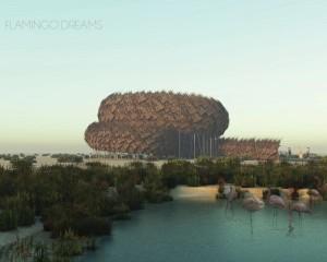 Abu Dhabi: i progetti vincitori del punto di osservazione per i fenicotteri