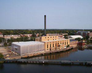 Una centrale a carbone si trasforma in un College sostenibile