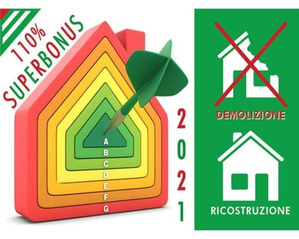 Superbonus: demolizione e ricostruzione (con o senza ampliamento)