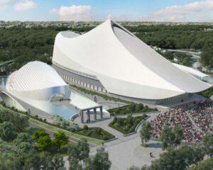 Il nuovo centro culturale per l'arte di Taiwan firmato Calatrava