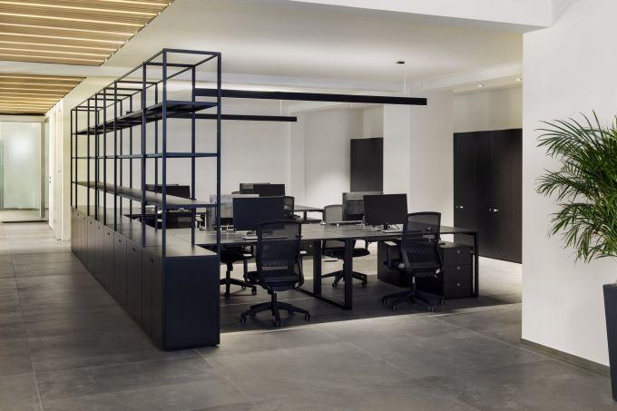 Gli uffici del nuovo headquarter Talenti