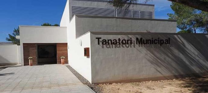 Tanatorio, ovvero l'obitorio di Formentera