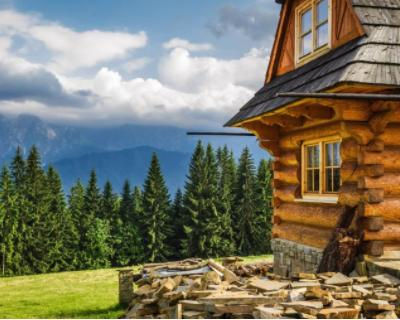 Case In Pietra Di Montagna : Tra le case di pietra foto di agriturismo montagna verde