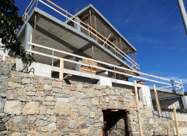 Soluzioni Tecnostrutture per una villa in Liguria