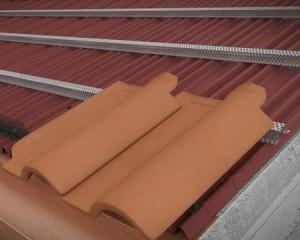 Tetti a falda isolati, ventilati e impermeabilizzati