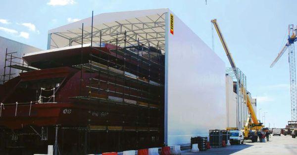 Le coperture in PVC di Kopron per il settore nautico