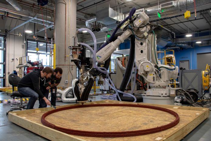 Tera, abitazione realizzata in 3D con una tecnologia robotica