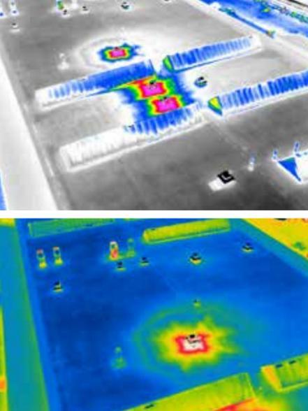 Le termocamere sono note per essere preziosi  strumenti di ispezione, che aiutano a individuare carenze di isolamento, problemi nelle attrezzature e nel flusso  d'aria dei sistemi di condizionamento, malfunzionamenti  dell'impianto di riscaldamento a pannelli radianti,  compromissione di tetti e molto altro ancora