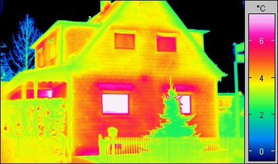 La termografia a infrarossi per il settore dell'edilizia