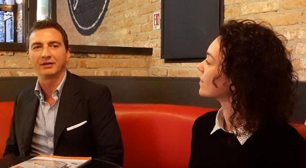 L'architetto Francesco Cotone e Serena Biscetti di Terreal parlano di terracotta