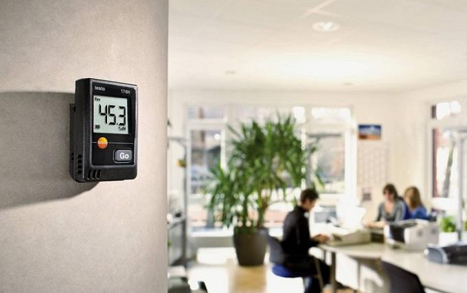 Mini Data logger per temperatura e umidità testo 174-H