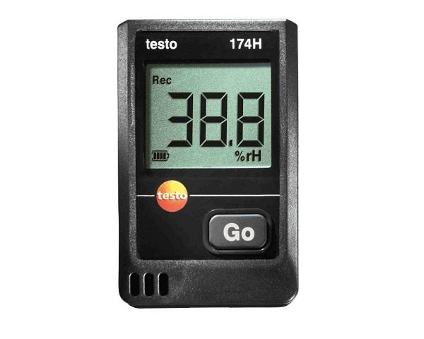 Mini-Data logger per temperatura e umidità testo 174H