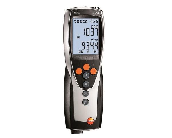 Testo 435 è lo strumento per la valutazione della qualità dell'aria ambiente