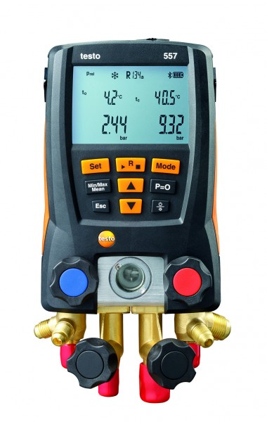 Gruppo manometrico digitale Testo 557 con bluetooth