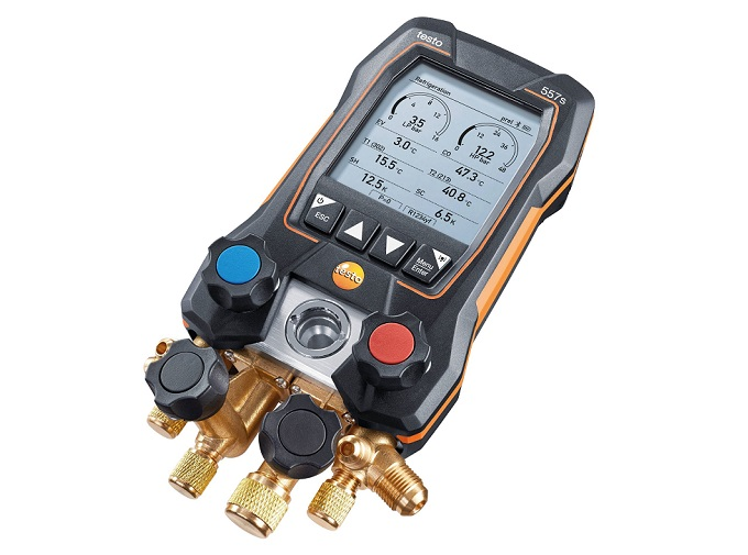 testo 557s, il manifold digitale con Bluetooth