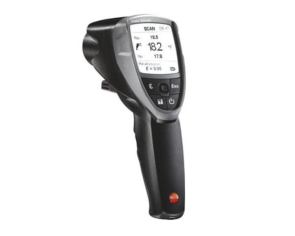 Termometro a infrarossi testo 835-H1 per misurare l'umidità