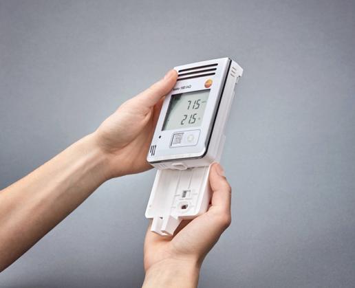 Sensore monitoraggio qualità dell'aria di Testo
