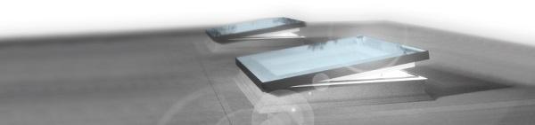 Finestre per tetti piatti