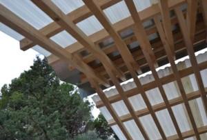 il tetto del padiglione