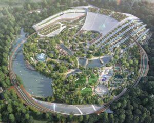The garden city of the crescent moon: il concept della città del futuro
