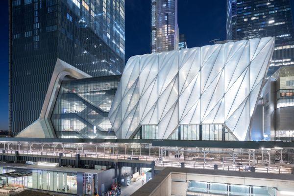 The Shed: l'edificio newyorkese che si allunga per eventi e manifestazioni